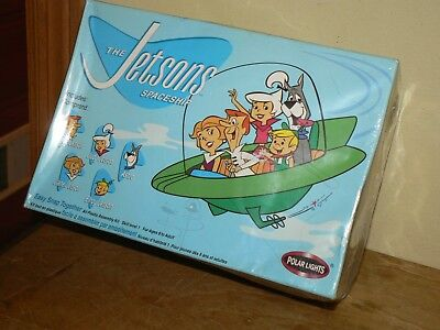 The Jetsons Spaceship Polar Lights Plastic Model Kit #6810