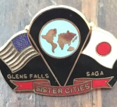 Glens Falls/saga Sister Cities Balloon Festival Pin