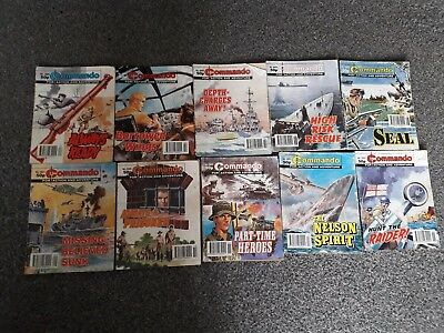 commando comics 49 in total job lot