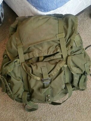 USGI Issued Large ALICE pack with Frame and Waist Belt.