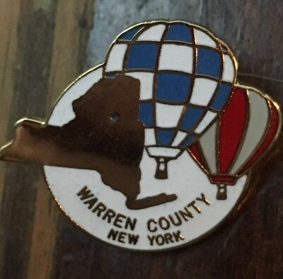 Warren County Ny Balloon Festival Pin