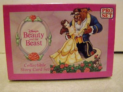 Disney's Beauty and the Beast Trading Cards - 95 Card Set SEALED BOX 1992 - LOOK