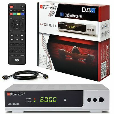 Vantage VT-100 Twin Tuner HD HDTV TV Receiver HDMI Kabel digital USB PVR CI+ Set