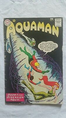 Aquaman #11 1st Mera Appearance Hot Key Movie Silver Age (Sep-Oct 1963, DC)