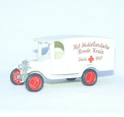"""Efsi Holland 1:64 FORD MODEL T """"DUTCH RED CROSS"""" T-FORD 1919 Car Mint ULTRA RARE"""