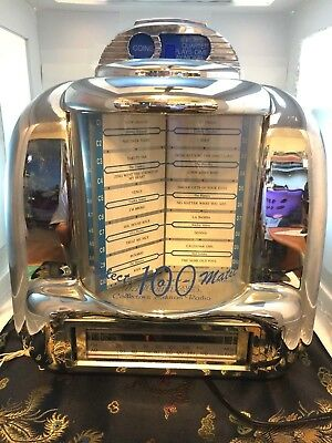 Thomas Collector's Edition Radio (Designed as Diner Music Selector)