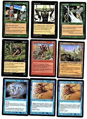 """Magic the Gathering Tempest Edition Set (C) of 9 Cards """"2019 Sale"""""""