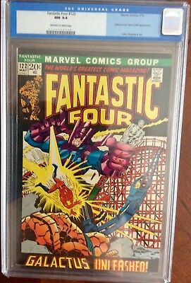 Fantastic Four 122 CGC 9.4! Off White to White pages. Old label.