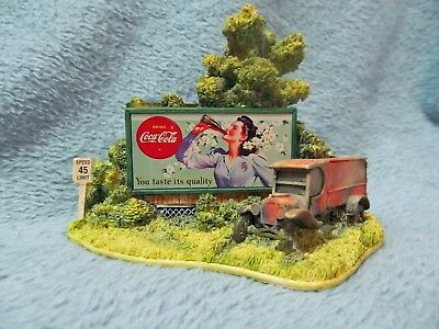 Lilliput Lane - Hazards of the Road - Coca Cola Country - #1259 - Was $50