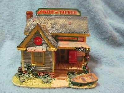 Lilliput Lane - Hook, Line And Sinker - Coca Cola Country - #1896 - Was $75