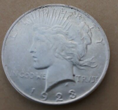One Dollar 1923 Peace Dollar