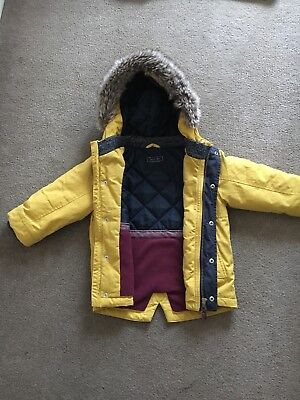 Toddler Boys Winter Coat. Excellent Condition. No Signs Of Wear. Aged 18-24 Mths