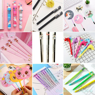 Lots Ballpoint Gel Pen Pencil School Office Stationery Student Kids Writing Tool
