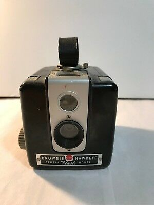 Vintage Brownie Hawkeye Camera Flash Model - Not Tested - Kodak