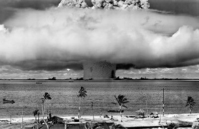 "New 13x19 Poster: Operation Crossroads - The ""Baker"" Test Explosion Nuclear Bomb"
