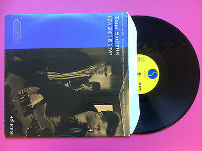 The Smiths - How Soon Is Now? / Girl Afraid, Sire Promo 0-20284 VG+ US PRESS