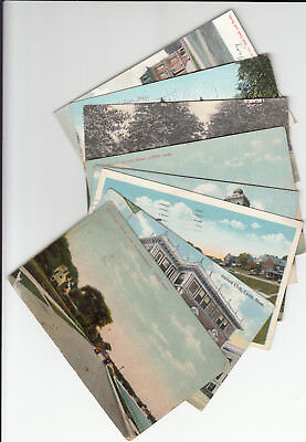 Lot of 10 Vintage Era Lynn Massachusetts Essex County MASS Church High School MA