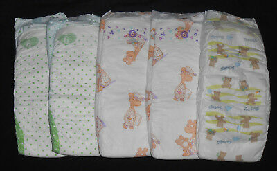 SUPER BIG BABY DIAPERS Loose Lot Diapers - XXL Extra Large Non Vintage huge