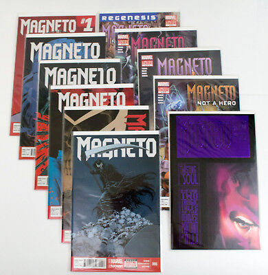 Magneto Comic Lot - Not A Hero Mini-series 1-4 and MORE!!! (1993) MARVEL X-Men