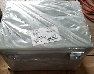 Hoffman Electrical Wall Mount Junction Box Enclosure Panel A10086ch NEMA New