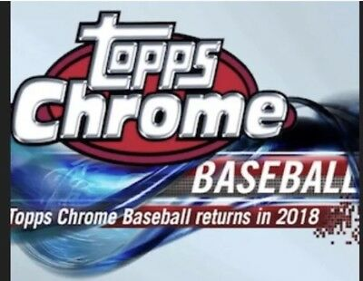 2018 Topps Chrome Prism Refractors, Complete Your Set, You Pick, Mint, Free Ship