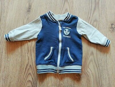 Baby boys 6-9 Months Mickey Mouse Disney jacket from George