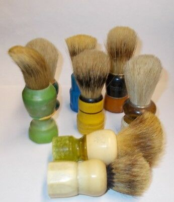 """lot of eight """"Help Me"""" Saving Brushes"""
