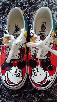 380739846a6eb VANS X DISNEY mickey mouse sweat cotton round neck crew steamboat ...