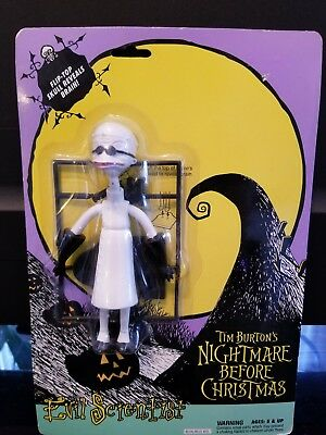 Evil Scientist Action Figure Tim Burton's Nightmare Before Christmas