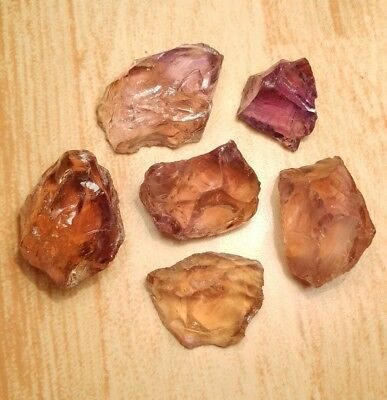 ~SUPER CLEAN~ BOLIVIAN AMETRINE AMETHYST~CITRINE~ FACET ROUGH (420ct's) SWEET!!!