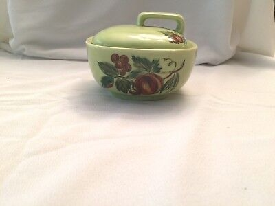 Salem Flair Chartreuse French Provincial Viktor Schreckengost  covered dish