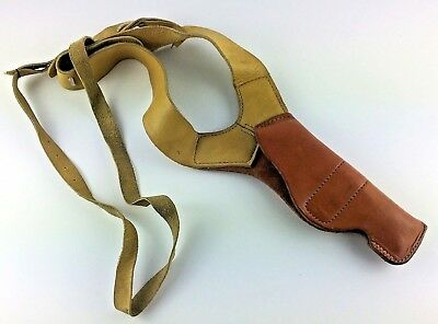 San Francisco Gun Exchange Leather Shoulder Holster 52 32A