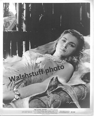 "Christiane Martel Stars In ""Little Savage""1959 20th Film 8x10 B&W Photo"