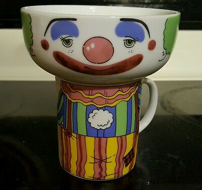 Interpur CLOWN Stacking Cup & Bowl  L@@k