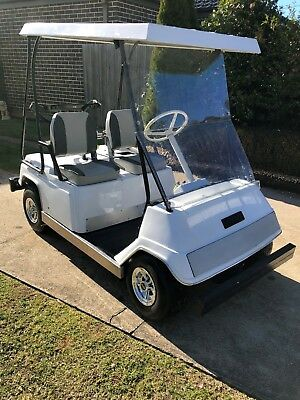 Vintage Yamaha G1 Two Stroke Petrol Golf Cart/car c.1980.