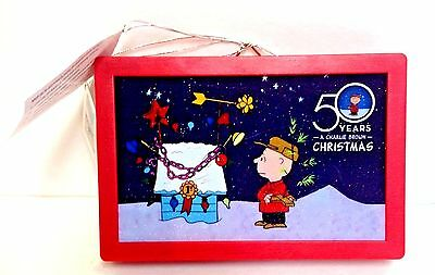 Charlie Brown light up 50th Illuminated Art Mr Christmas Collectors Item