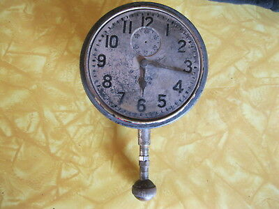 Elgin 8 day CAR CLOCK Model 1 Grade 471 Size 37s 7 jewel S/N 29726897 built 1927