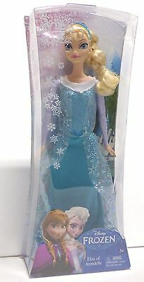 NEW Disney Frozen Princess Elsa of Arendelle Sparkle Doll 12 inches Brand New