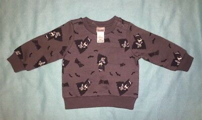 Batman Jumper Size 0/6-12 Months New Without Tags