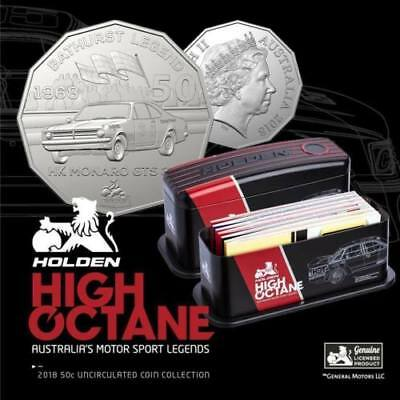 2018 Holden High Octane Motorsport 7 coin 50c Collection SOLD OUT- #1013