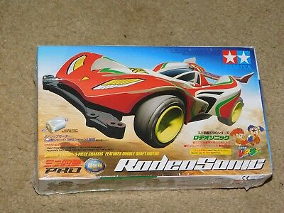 Tamiya 1/32 NewMotorized MINI 4WD Pro Series No22 JR RODEO SONIC MS Chasis 18622
