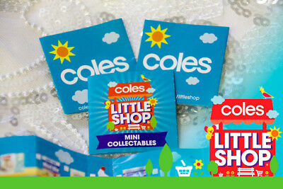 * LIST for Checking (x1) * Coles Little Shop Mini Collectables Complete the Set