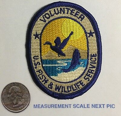 US Fish & Wildlife Service Volunteer Patch Previously attached