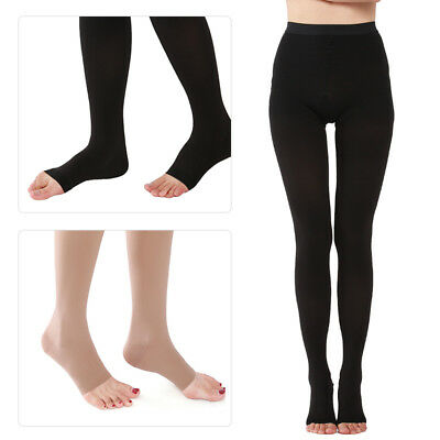 23-32 mmHg Women's Compression Pantyhose Support Stockings Medical Travel Flight