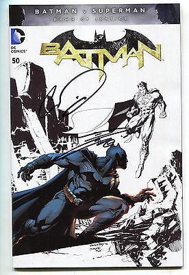 Batman 50 DC 2016 NM Signed Chris Daughtry Danny Miki Ink Variant Jim Lee