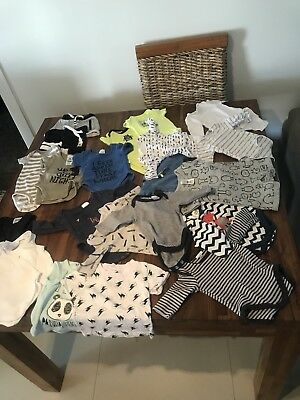Boys, Bonds, Carters,, Target, Purebaby, Jumpsuits Shorts  Size 0000 Newborn
