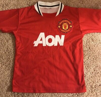 bf89f7bc6 Vintage Manchester United Javier Chicharito Hernandez Soccer Jersey Youth  small