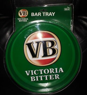 Rare Collectable Vb Victoria Bitter Beer Drink Serving Bar Tray Brand New