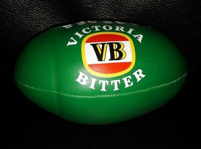 Collectable Vb Victoria Bitter Beer Mini Football Footy In Good Condition