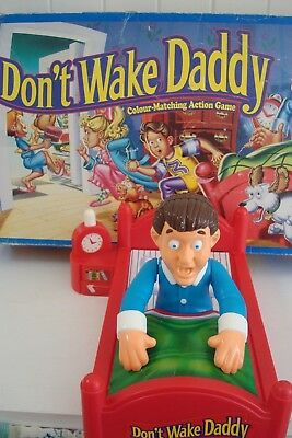 Don't Wake Daddy! - A Fun Family Game - Parker Bros.